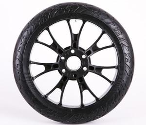by DHL/FedEx/TNT/UPS Motorcycle wheel Aluminium plastic Hub Tire