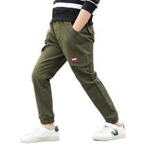 boys pants 2019 autumn cotton long kids 3-14 y trousers new style high quality pantalones causal cargo