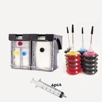 Vilaxh 60xl Navulbare Inkt Cartridge Vervanging Voor Hp 60 Xl Photosmart C4600 C4680 Deskjet D2530 D2560 F4280 Printer