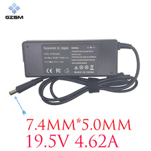 GZSM 19.5V 4.62A 90W Laptop power Supply FOR DELL Latitude D505 D510 D800 D810 Adapter D820 E5530 E5400 E6500 M70 Laptop Charger d510 laptop motherboard 50