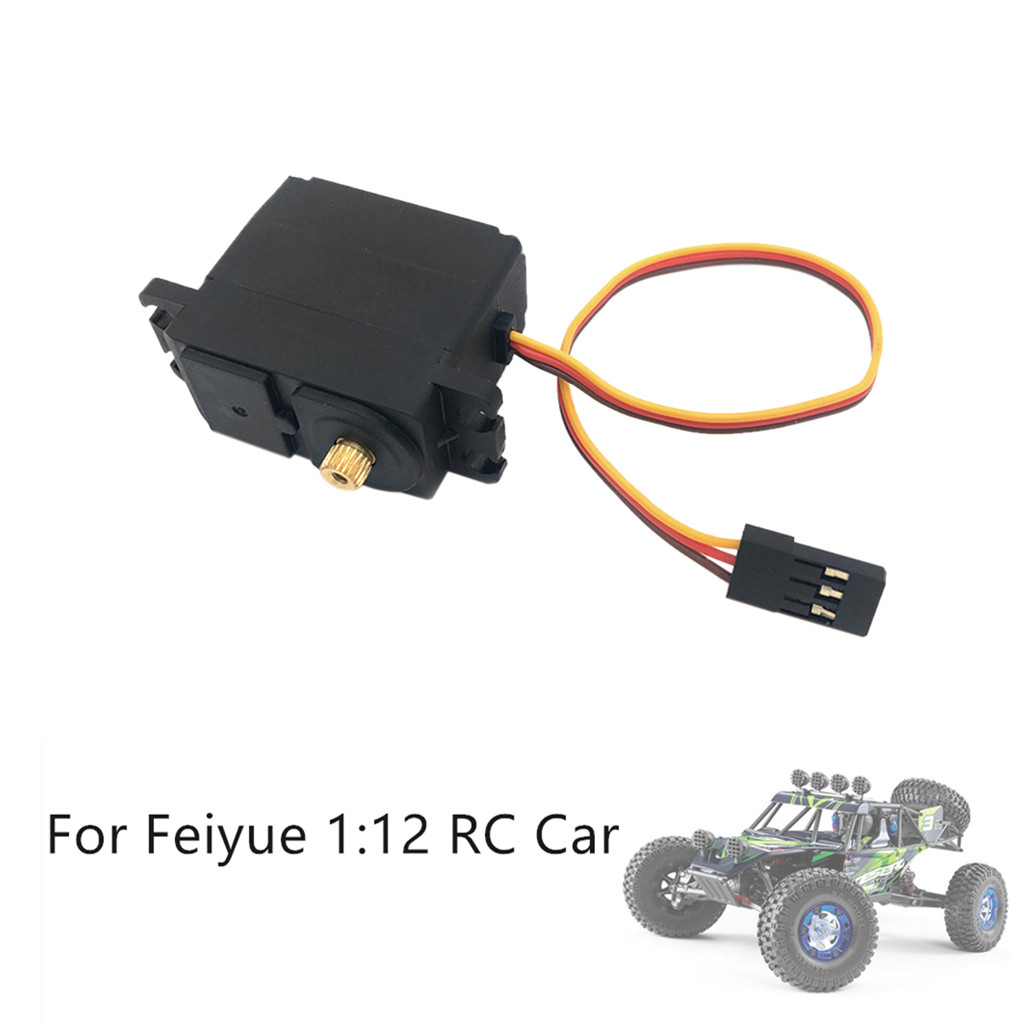 Metal Servo Replacement Upgrade Parts 3 Wire Metal Gear Servo For Feiyue FY01/FY02/FY03/FY04/FY05 RC Car FH5