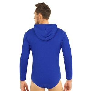 Image 2 - Мужское нижнее белье, сексуальное боди с длинным рукавом, толстовка с капюшоном, боди, комбинезон, пижамы, подгузники для влюбленных, возраст игроков, сексуальный костюм