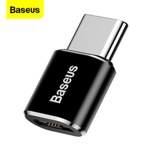 Baseus Micro to Type-C Adapter Converter For Samsung XiaoMi Huawei P9 Nexus 3 Types Micro USB Type C OTG USB-C Charger Adapter micro usb female to type c 3 1 male cable adapter charge usb c converter for samsung s8 lg for huawei zte for letv for xiaomi
