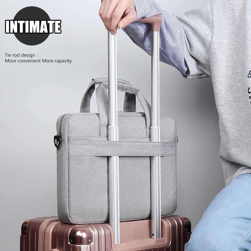 حقيبة كمبيوتر محمول كم حقيبة واقية حقيبة الكتف HP حمل حقيبة ل pro13 14 15.6 بوصة ماك بوك اير ASUS أيسر لينوفو ديل حقيبة يد