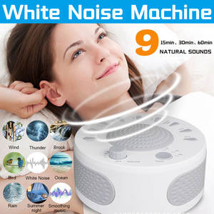 Sleep-Sound-Machine White Noise Baby Sleep Relaxation Sound-Usb with 9-Plant Soothing