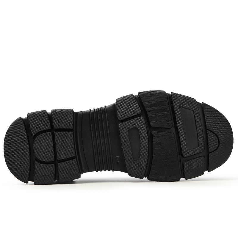 Erkek güvenlik ayakkabıları Anti-piercing nefes aşınmaya dayanıklı Anti-skid ve güvenlik ayakkabıları çelik ayak iş giysisi ayakkabı