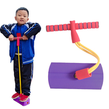 Training-Rod Jumper Pogo-Stick Jumping-Toys Sense Sports-Game Bouncing Outdoor Blue Pink