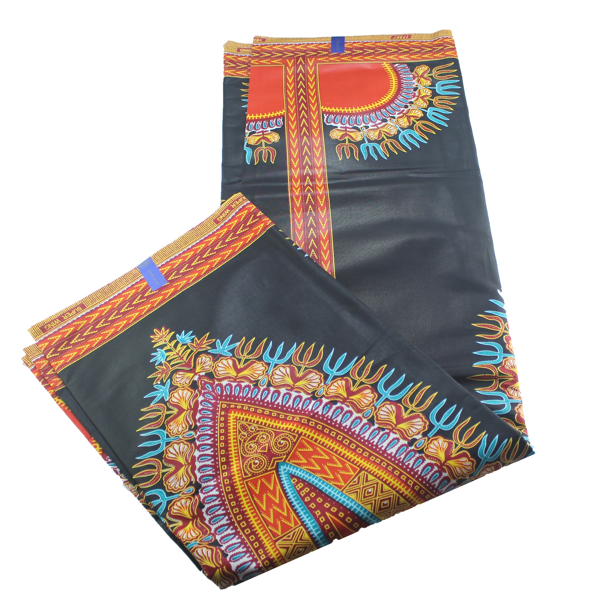 New Dashiki Design Thick Wax Cloth 100% Cotton DIY African Dashiki Fabrics