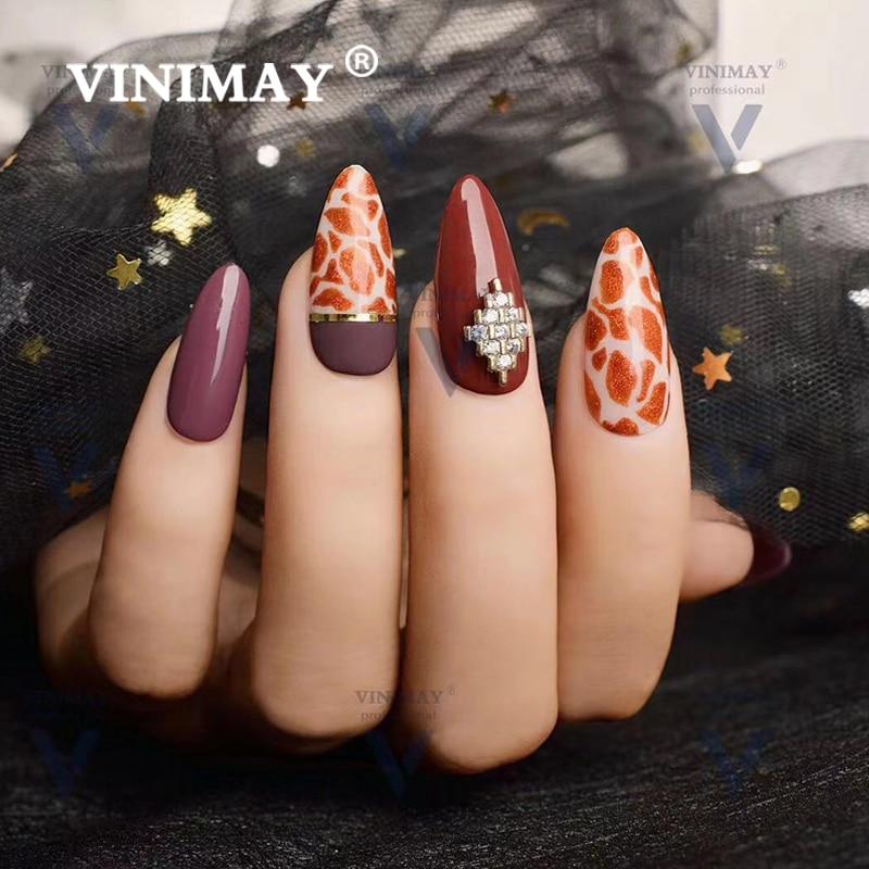 VINIMAY 18 Couleur Ensemble de Manucure pour L'art des Ongles Nail Art Design 15 Ml Imbibent Émail Vernis UV Gel Vernis À Ongles Vernis - 6