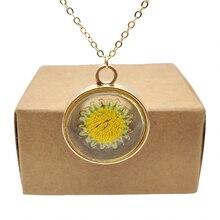 Подсолнечник настоящий цветок прозрачной плавающей медальон