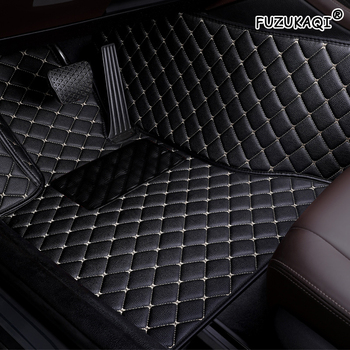 FUZHKAQI Auto car floor Foot mat For toyota camry corolla CHR Highlander land cruiser prado 120 prius Sequoia car accessories image