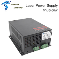 Dragon Diamond 60W Co2 Laser Power Supply For Co2 Laser Engraving and Cutting Machine MYJG Series