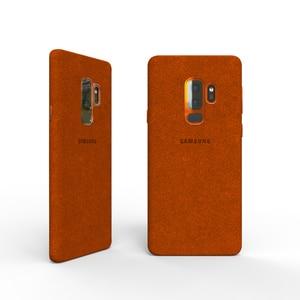 Image 5 - 100% NEW Original Genuine Samsung Galaxy S9 S9 plus S9+ ALCANTARA cover leather luxury premium case EF XG960 EF XG965