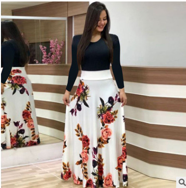 African Dresses For Ladies Summer Maxi Dress Women Clothes Women's