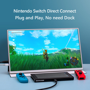 15,6 дюймов 4K Портативный сенсорный монитор Mac переключатель PS4 ноутбук XBOX HDR10 HDMI USB Type-C IPS 1080P полный экран Android режим рабочего стола