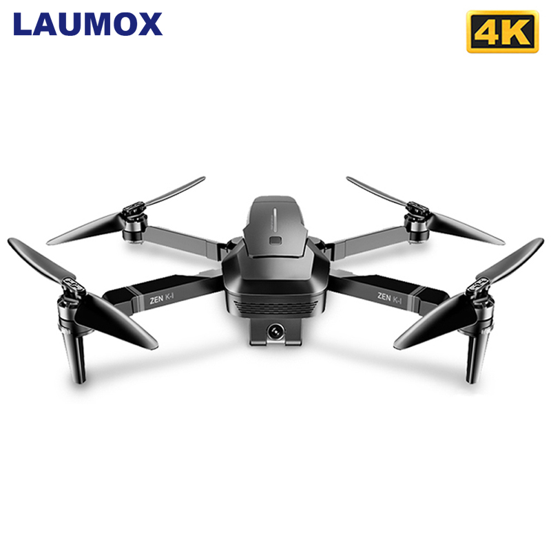 Visuo ZEN K1 GPS RC Drone With 50 Times Zoom 4K Wide-Angle HD Dual Camera 5G Wifi FPV Brushless Motor 28 Mins Flight Time SG906