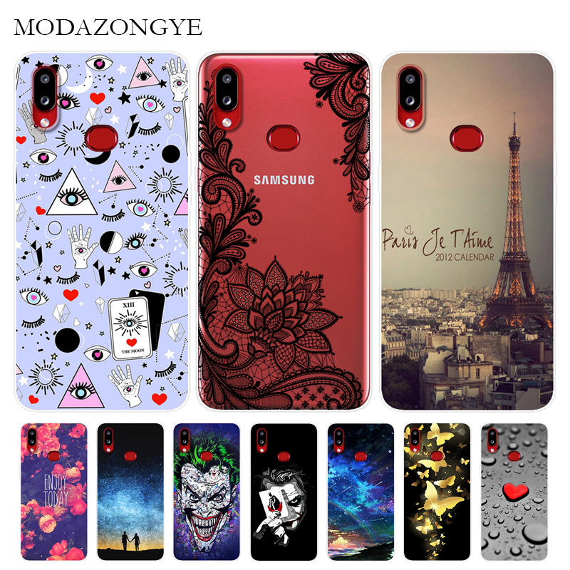 For Samsung Galaxy A10S Case Soft Silicone Cartoon Back Cover Phone Case For Samsung Galaxy A10S A 10S GalaxyA10S SM-<font><b>A107F</b></font> <font><b>A107F</b></font> image
