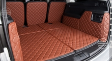 Customized Wholy Covered Car Trunk Mats for Seat ALHAMBRA 7seats Waterproof Leather Carpets for ALHAMBRA миска brandani alhambra