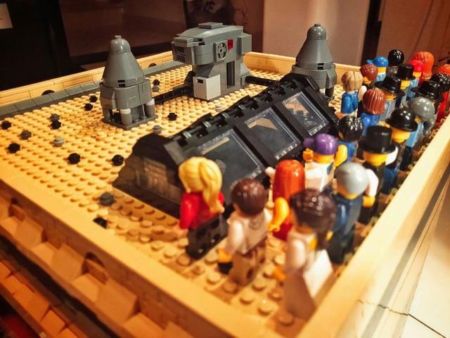Creator The Dinosaur Museum MOC 15015 5003Pcs Street View Model Building Kits Blocks Bricks Education Toys 1