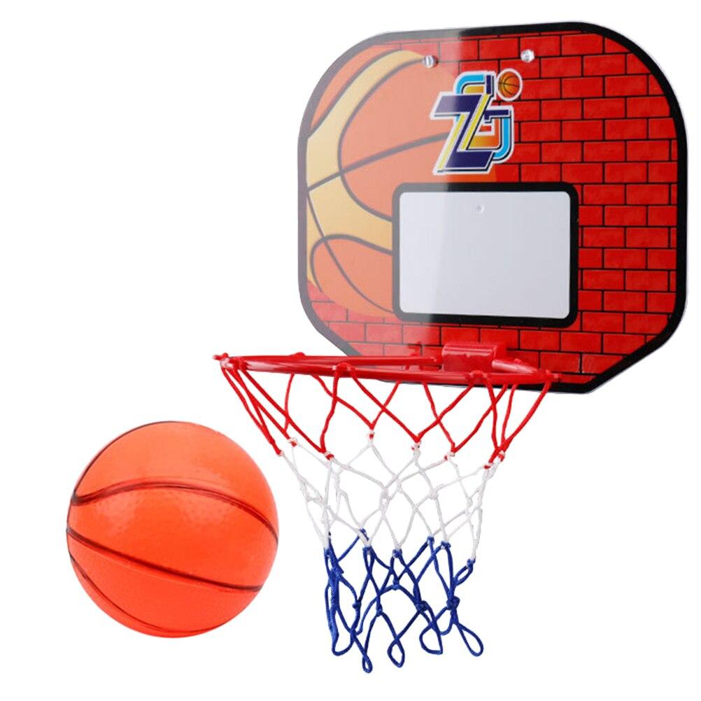 Настенный пластиковый баскетбольный обруч для школы в общежитии, 1 комплект