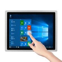 10/12/15/17/19/21 polegada tabuleta industrial 4g 64g com pintura de tela de toque para windows10 pro i3