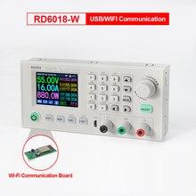 Module d'alimentation électrique, convertisseur de tension, multimètre, 60V, 18a, USB, WI-FI, RD6018, RD6018W