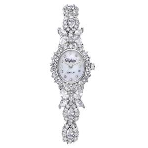 Image 5 - ديفيني سوار ساعة الإناث ساعة عادية موضة السيدات ساعة مقاوم للماء ساعة كوارتز امرأة ساعة الإناث