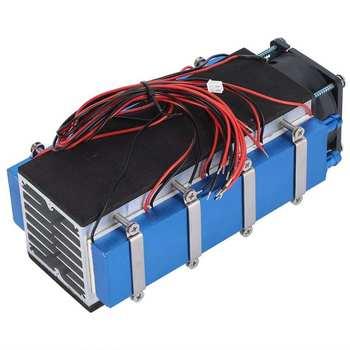 Chłodnica płytowa TEC1 ‑ 12706 DC12V 576W schładzacz termoelektryczny 8 ‑Chip łóżko dla zwierząt DIY mała przestrzeń chłodzenia chłodzenie powietrzem urządzenia tanie i dobre opinie EBTOOLS NONE CN (pochodzenie) Woodworking