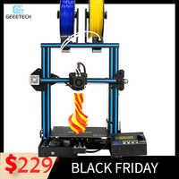 Imprimante 3D Geeetech A10M 2 en 1 Mixcolor fonction de nivellement automatique 220*220*260 3mm aluminium hotbed Superplate Filament senso CE FDM