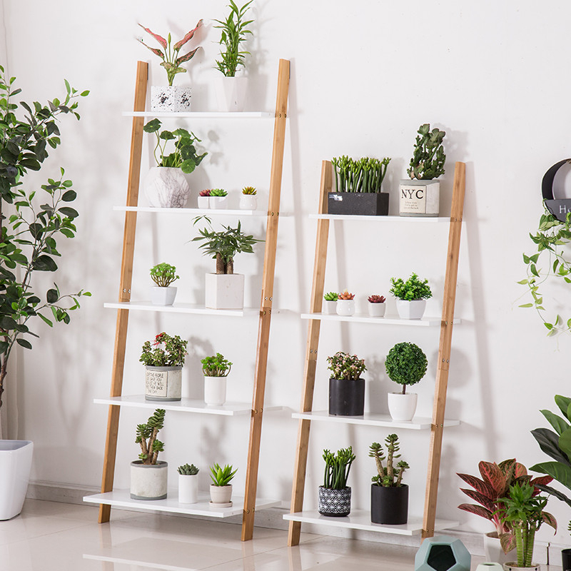 Rack To Ground Indoor Multi-storey Flower Airs Balcony A Living Room Meaty Flowerpot Frame By Wall Frame Originality Shelf