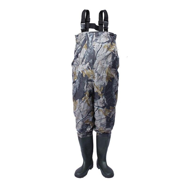Открытый болотные сапоги противоскользящие чулки обувь сапоги с прочным Водонепроницаемый воздухопроницаемые рыболовные забродный костю
