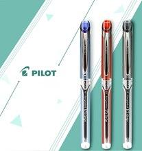 9 ชิ้น PILOT Hi Tecpoint Grip BXGPN V5 0.5 มม.Extra Fine Rollerball ปากกาเจลปากกาทดสอบปากกาพิเศษญี่ปุ่นสีดำ/สีฟ้า/สีแดง