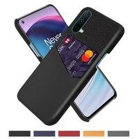 Caso de negocio para OnePlus Nord CE N10 5G N100 9R 8T 9E Funda tela titular de la tarjeta para uno más 7 7T 8T 9 Pro 5T 5T 6T Coque