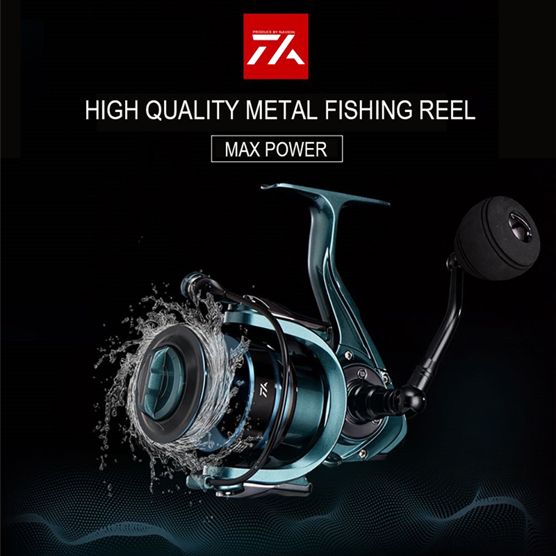 High Quality 14+1BB Double Spool  Fishing Reel 5.5:1 4.7:1 Gear Ratio High Speed Spinning Reel Casting reel Carp For Saltwater 2