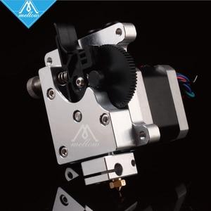 Image 2 - ميلو ثلاثية الأبعاد أجزاء الطابعة تيتان أكوا المياه المبردة الطارد ل 1.75 مللي متر خيوط FDM Reprap MK8 J رئيس anet a8 cr 10 eثلاثية الأبعاد V6 هوتند