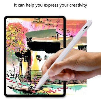 Uniwersalny 2 w 1 rysik rysunek Tablet pióro telefon komórkowy Tablet Ipad inteligentny aktywny ołówek optyczny rysik rysik z magnesem tanie i dobre opinie jakcom NONE CN (pochodzenie) Ekran pojemnościowy 16 76cm Z tworzywa sztucznego