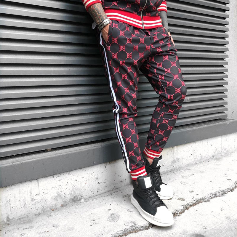 Casual Feet Pants Fashion Men's 2019 Hip Hop Men's Trousers Jogger Streetwear Wild Trousers Brand Trousers