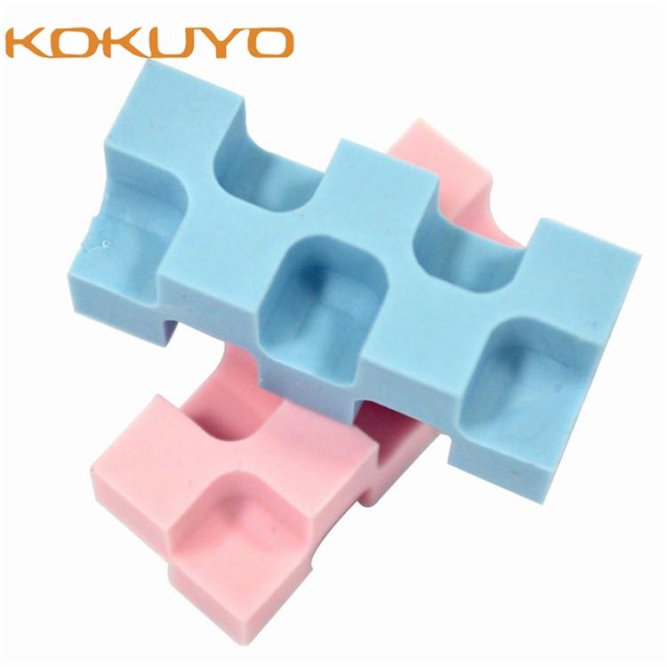 Japan KOKUYO U700N/U750 Creative Toy Bricks Style Eraser Multi-angle Erasing Supplies 28 Angles=