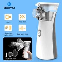 BOXYM Portable nebulizer Mini Handheld inhaler nebulizer for kids Adult Atomizer nebulizador medical equipment Asthma