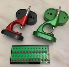 Feito em china clone horia msa 13.100 (bergeon 5372) ferramenta de jóias do relojoeiro com parafuso micrométrico 4mm & 4mm
