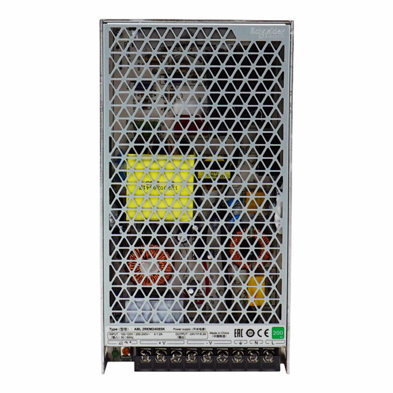 Schneider Electric ABL2 switching mode power supply ABL2REM24085K input single-phase 100-120/200-240VAC 200W output 24VDC 8.3A