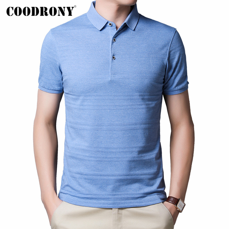 COODRONY Classic Pure Color Casual T-Shirt Men Clothes 2020 Spring Summer Short Sleeve T Shirt Men Cotton Tee Shirt Homme C5016S
