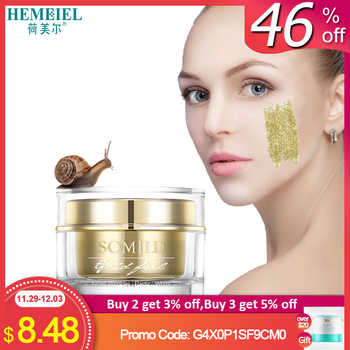 24k Gold Essence Snail Cream Anti Aging Anti Wrinkle Face Cream Repair Firming Skin Hyaluronic Acid Moisturizing Whitening Cream