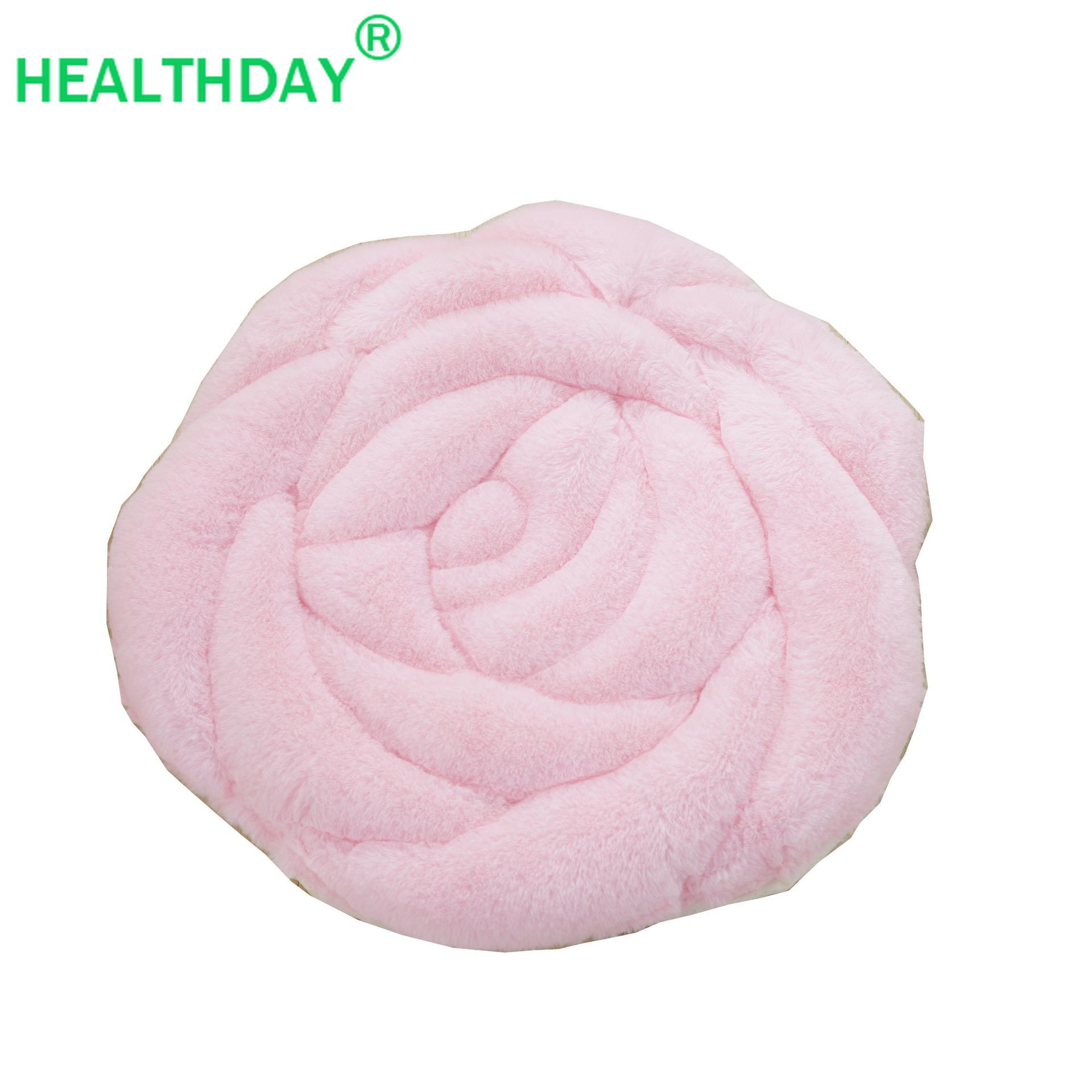 Winter Seat Cushion PP Cotton Filling Rose Style Care For The Buttocks  Christmas Gift For Girlfriend Wife Warm Hip Pad Pillow