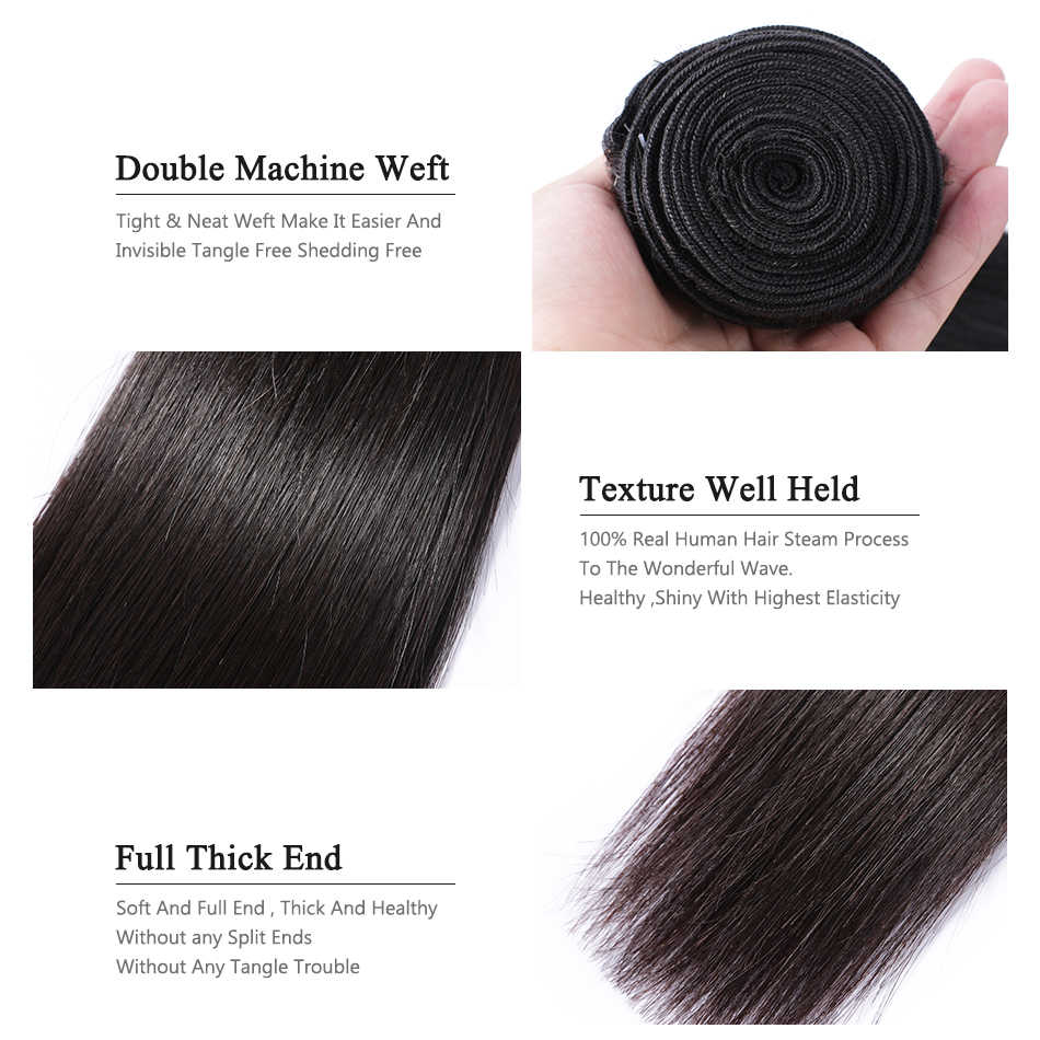 Wigirl مستقيم 8-28 30 32 40 Inch ريمي ضفيرة شعر برازيلي حزم 100% شعر طبيعي 1 3 4 حزم صفقات النسيج