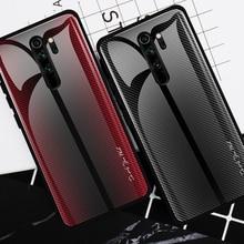 25pcs Della Banda Gradiente di Vetro della Cassa Del Telefono per Xiaomi 10 Pro/CC9/Redmi 8A/K20 Pro/redmi Nota 9s/Nota 8T/Nota 9 Pro/Nota 8 Pro/Nota 7