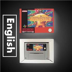 Earthbound   EUR Version RPG Spiel Karte Batterie Sparen Sie Mit Einzelhandel Box
