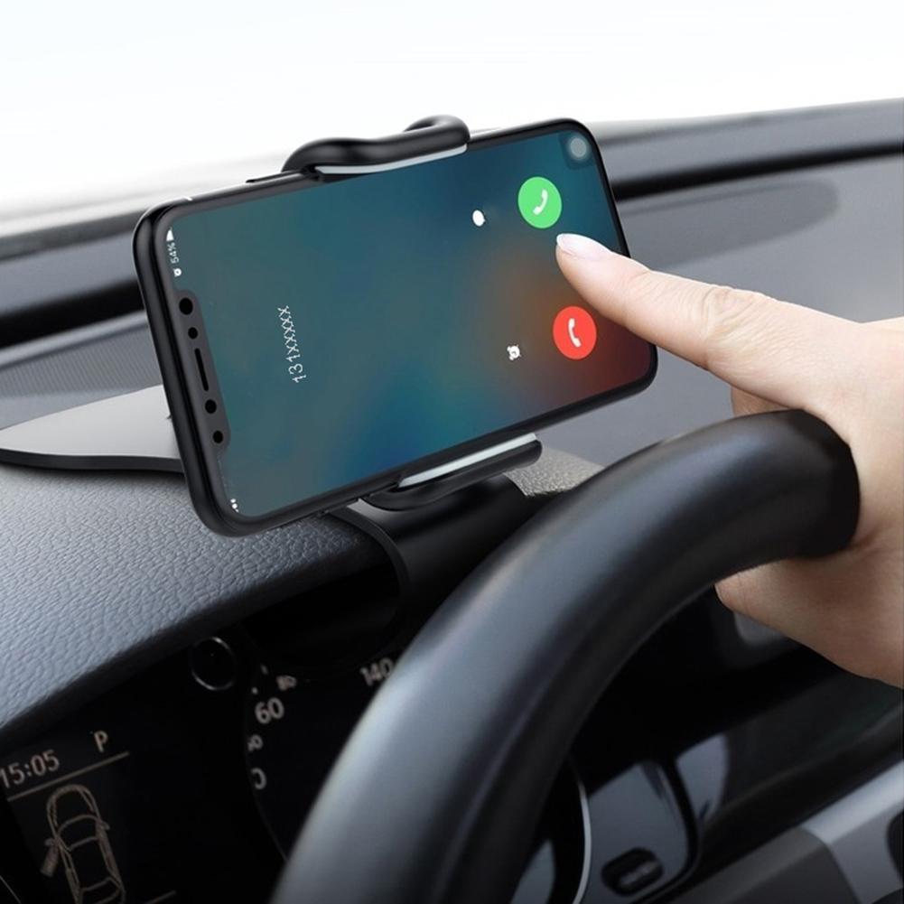 Universal Car Bracket 360 Degree Rotation Car Auto Dashboard Mobile Phone Stand Holder Clip Suporte Celular Carro Phone Holder