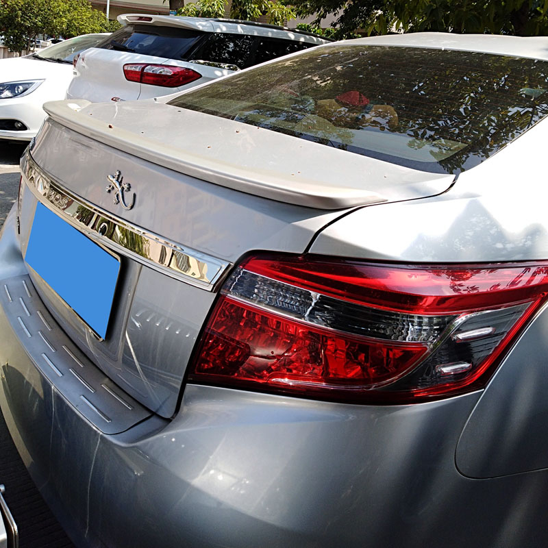 UBUYUWANT For Toyota Vios 2014-2017 spoiler High-quality ABS Material Car Rear Wing Primer or black Rear Spoiler