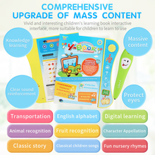Baby Kids Learning Machine Kid Laptop Toy Early Interactive Machine Alphabet Pronunciation Educational Toys Gift for Kids Baby kids children tablet educational learning toys gift for girls boys baby learning machine educational teach toy pad mini pc